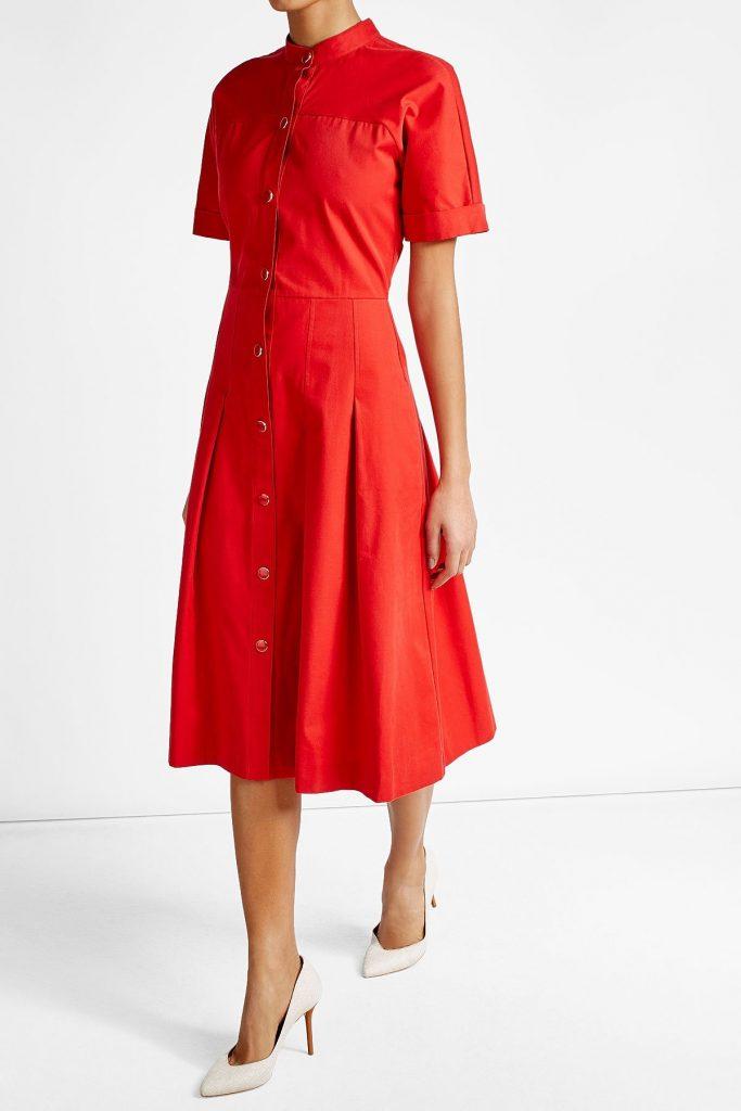 klare Textur echte Schuhe Bestseller einkaufen Großartig Damen Kleider Midi für 2019 - Abendkleid