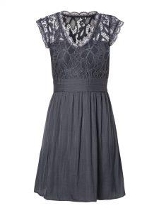 Designer Einzigartig Kleid Mit Spitze Blau Vertrieb17 Top Kleid Mit Spitze Blau Bester Preis