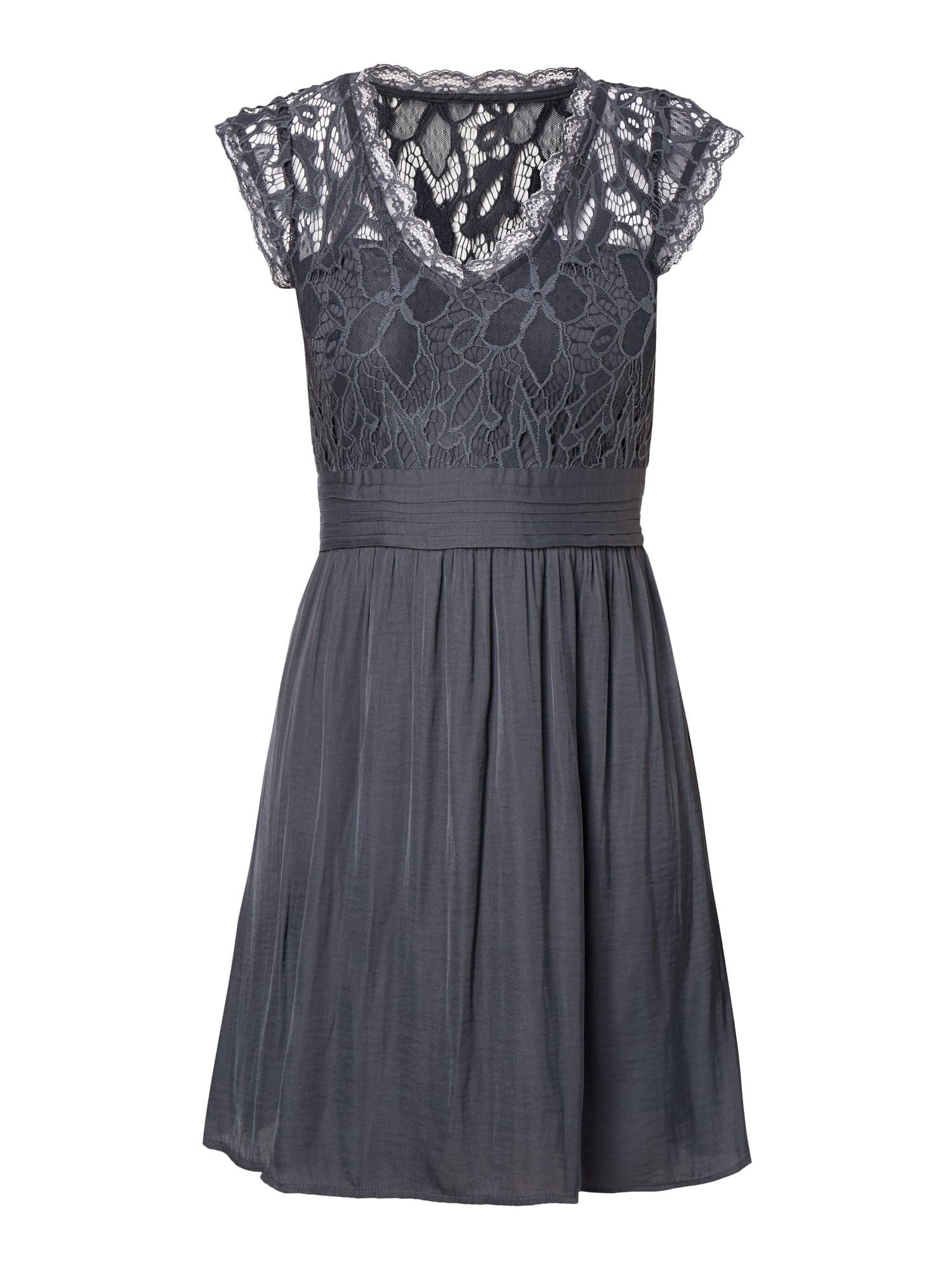 15 Top Kleid Mit Spitze Blau für 2019 - Abendkleid