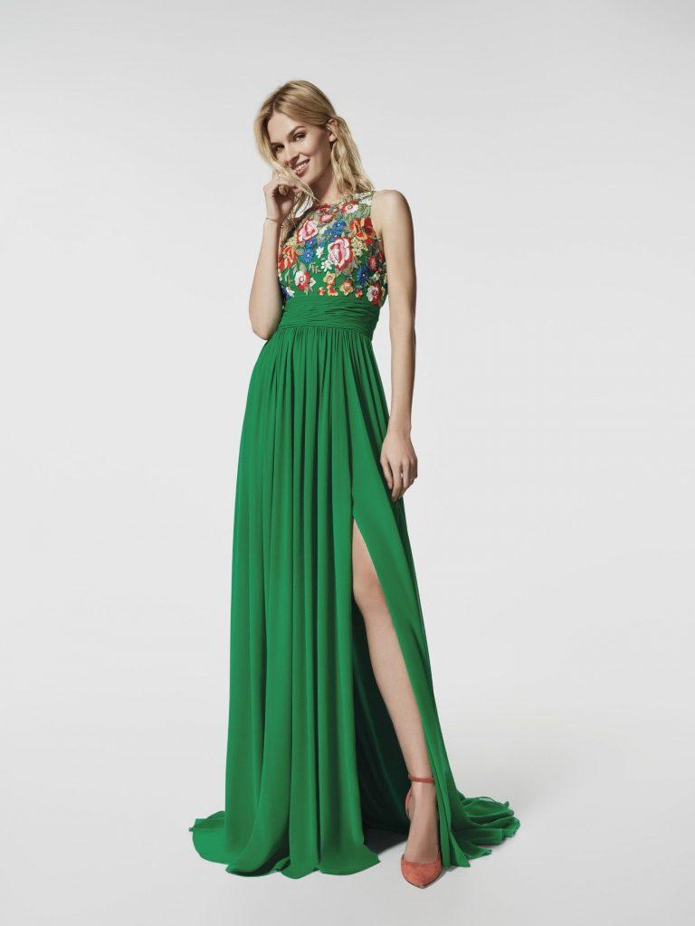 Leicht Grünes Kleid Kurz Stylish - Abendkleid