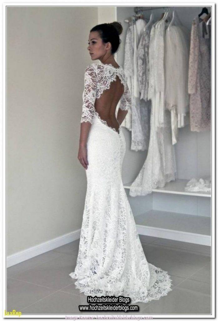 super popular 4bf89 a6d87 Leicht Kleid Hochzeit Langarm Galerie - Abendkleid