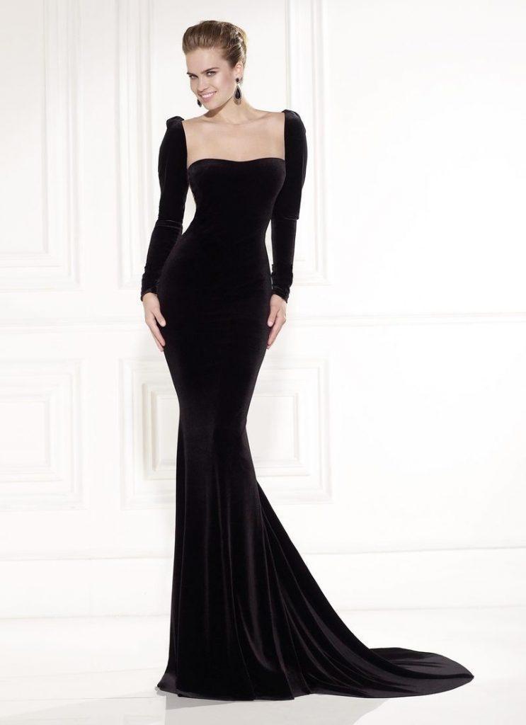 Leicht Moderne Abendkleider Lang Vertrieb - Abendkleid