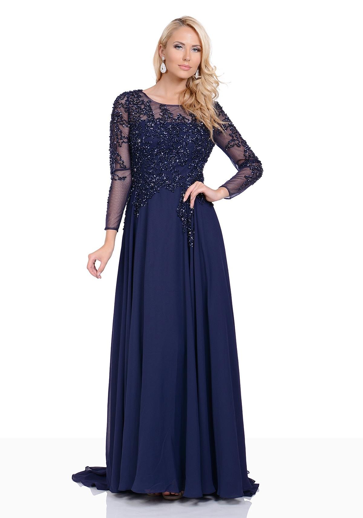 13 Top Abendkleid Dunkelblau Lang Ärmel13 Einzigartig Abendkleid Dunkelblau Lang Bester Preis
