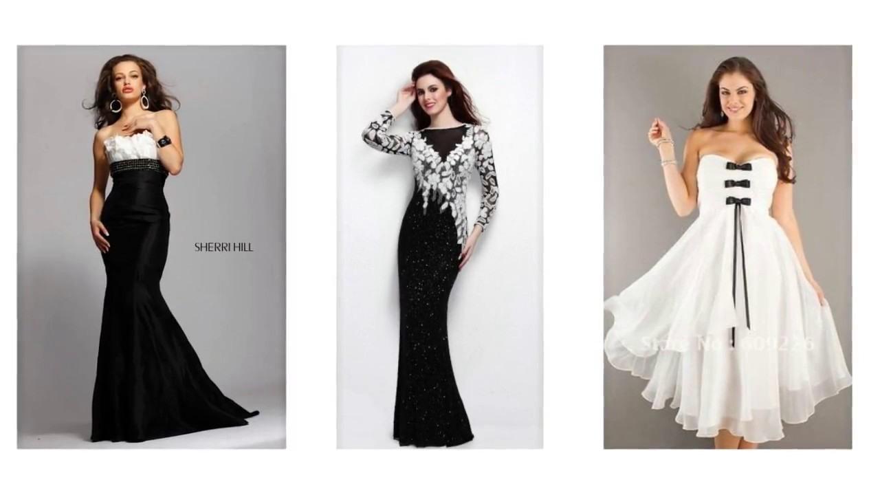 Genial Abendkleid Schwarz Weiß Lang Boutique10 Einzigartig Abendkleid Schwarz Weiß Lang Galerie