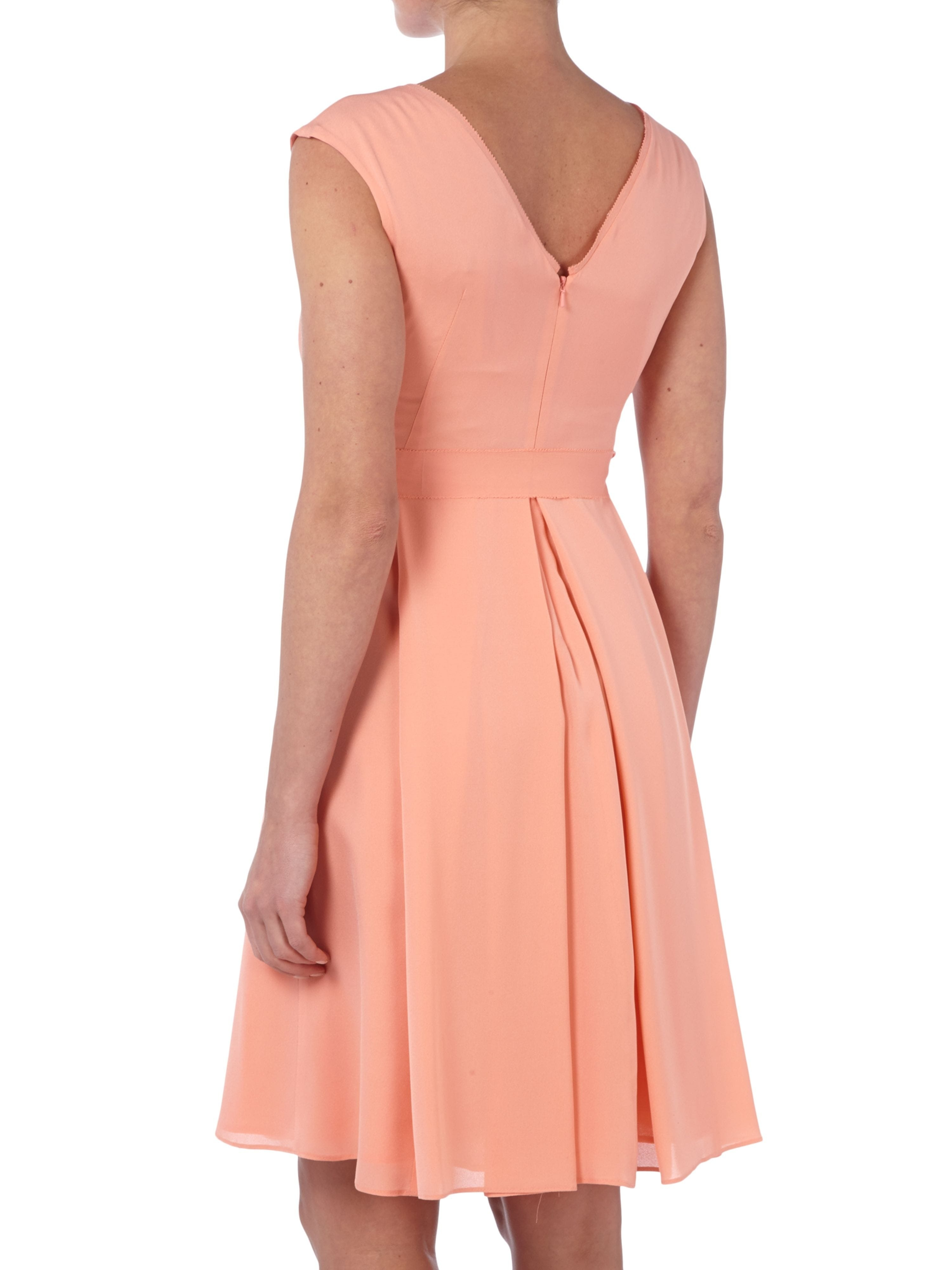 luxus kleid lachs boutique - abendkleid