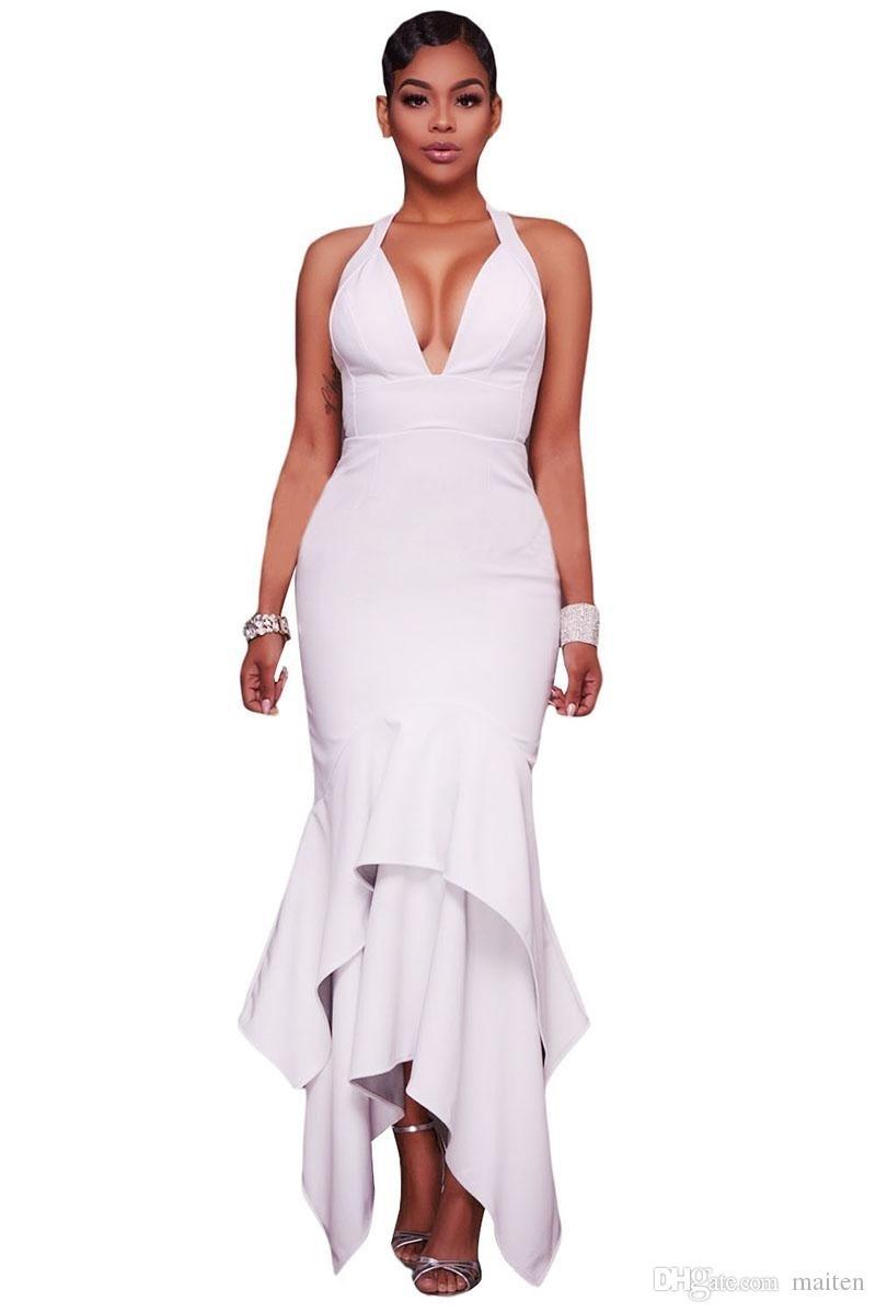 15 Schön Sommerkleid Lang Weiß Design17 Ausgezeichnet Sommerkleid Lang Weiß Vertrieb