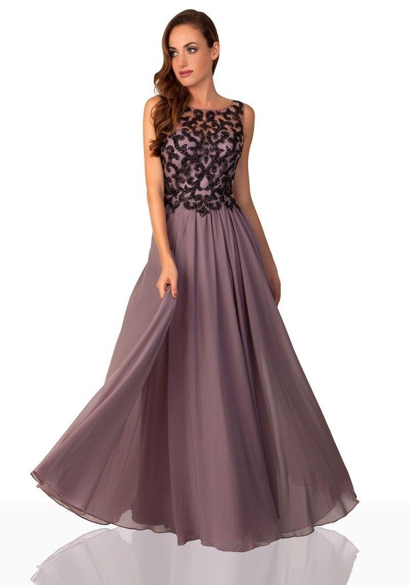 Abend Cool Abendkleid Taupe Design10 Kreativ Abendkleid Taupe Design