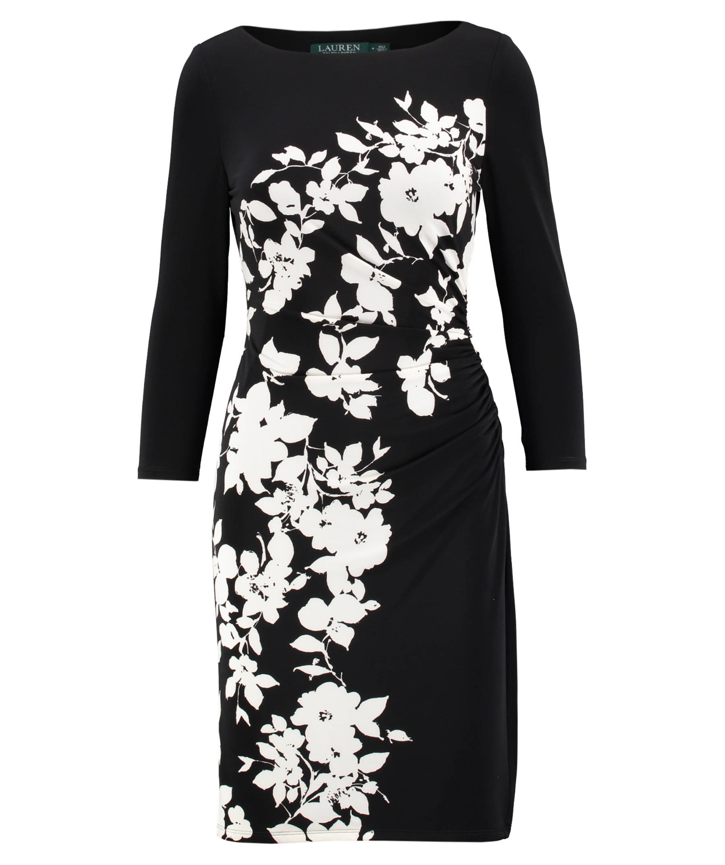 schön damen kleider schwarz weiß boutique - abendkleid