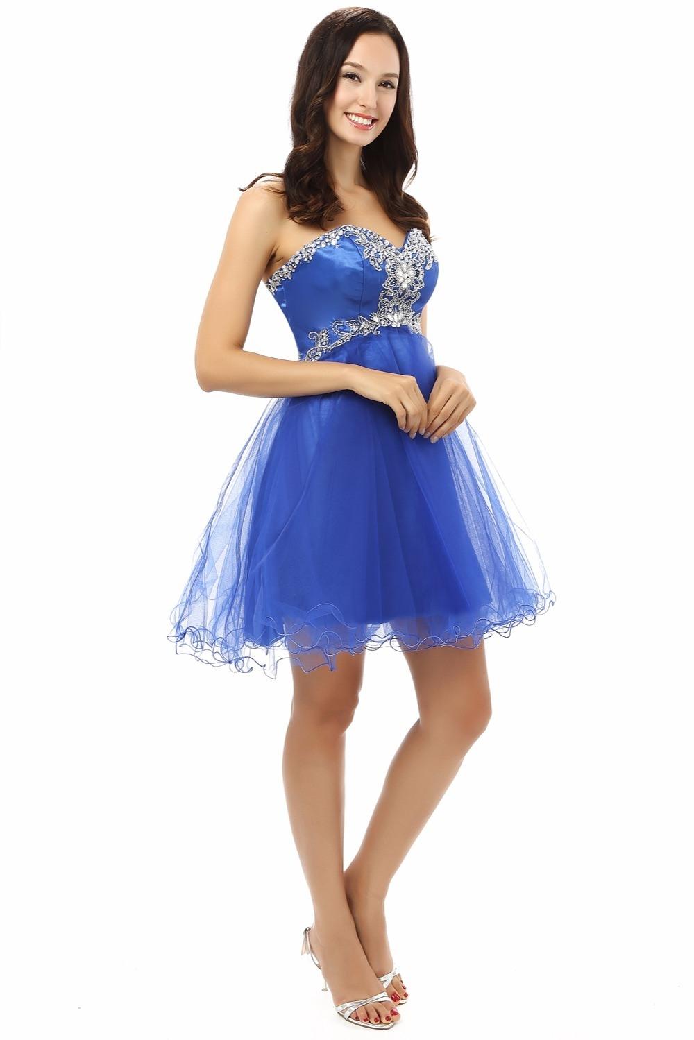 20 Schön Kleid Blau Kurz GalerieAbend Genial Kleid Blau Kurz Spezialgebiet