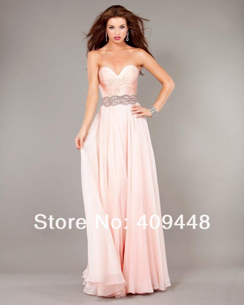 Schön Kleid Rose Lang Design - Abendkleid