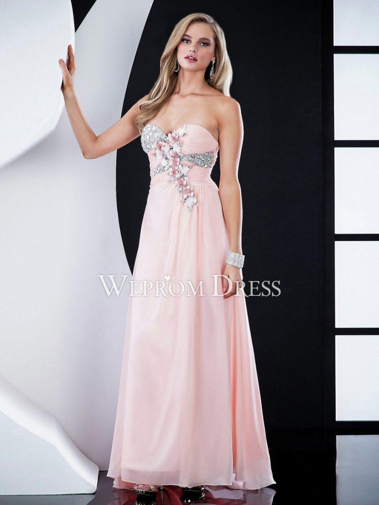 Schön Kleider Für Hochzeitsgäste Rosa Stylish - Abendkleid