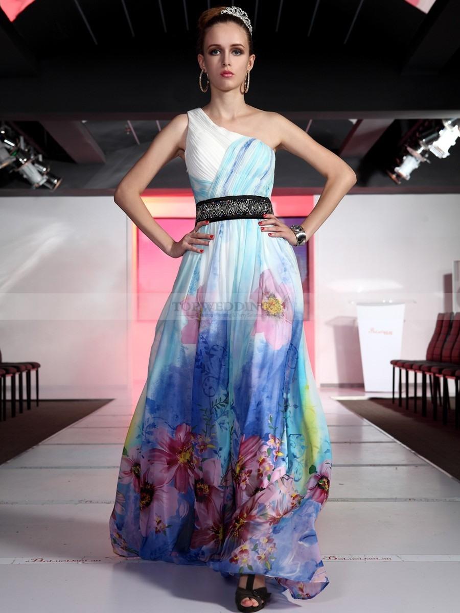 Abend Genial Abendkleid Lang Blumen Galerie10 Perfekt Abendkleid Lang Blumen Design