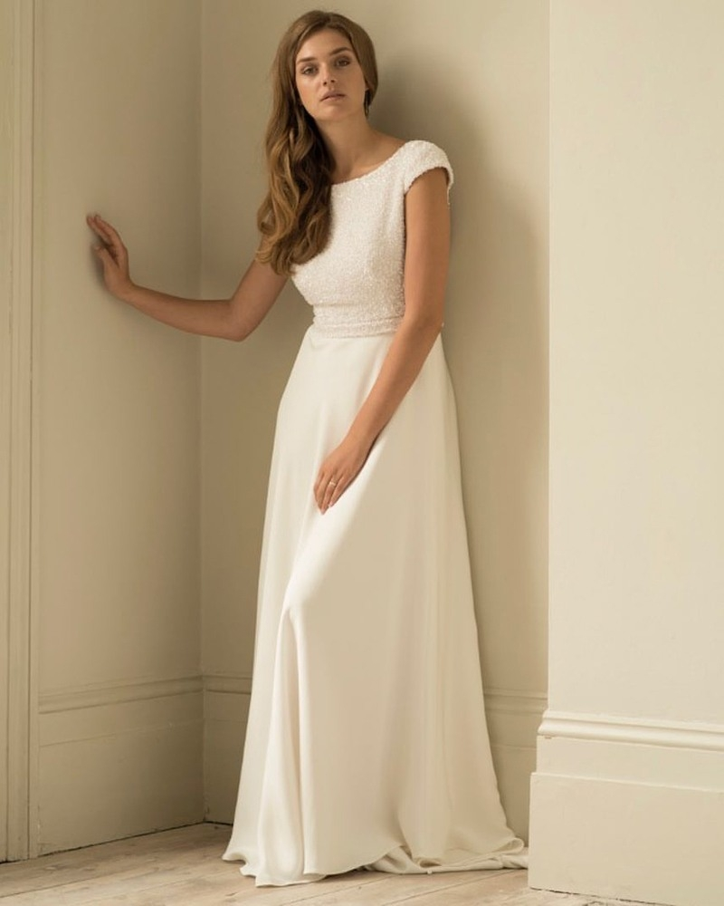 20 Ausgezeichnet Schlichte Hochzeitskleider Design15 Schön Schlichte Hochzeitskleider für 2019