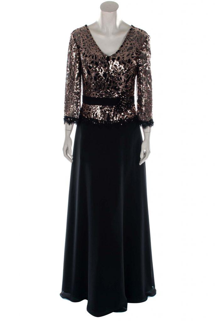 Wunderbar Abendkleider Lang Schwarz Stylish - Abendkleid