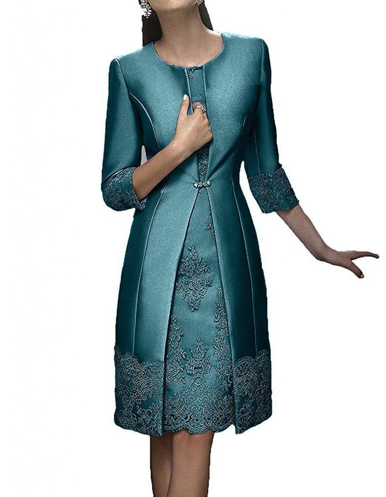 Wunderbar Ballkleid Kurz Langarm Design - Abendkleid