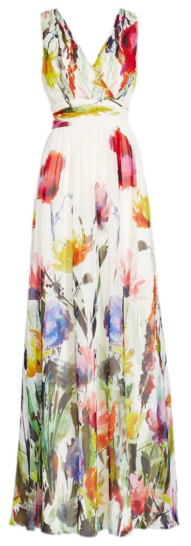 10 Ausgezeichnet Kleid Lang Blumen Bester PreisAbend Schön Kleid Lang Blumen Galerie