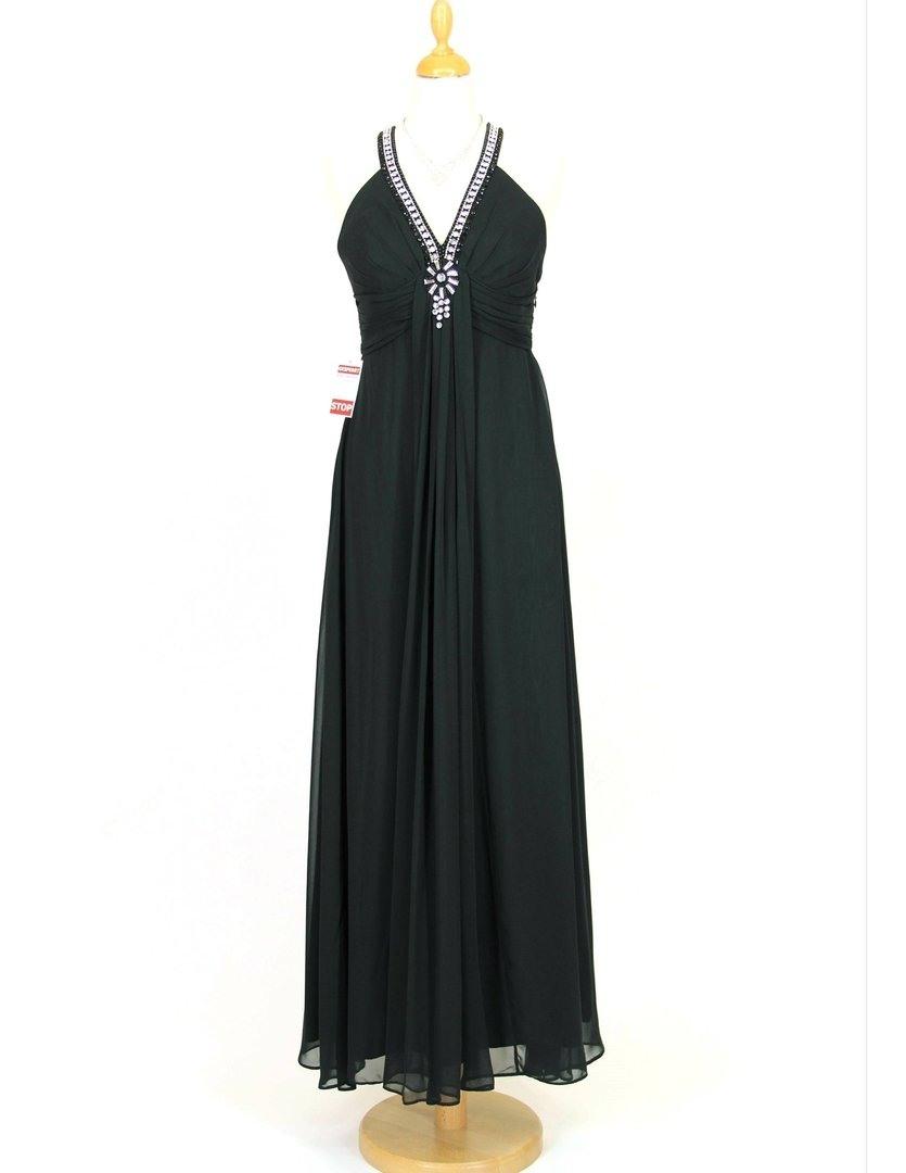 Schön Langes Abendkleid Schwarz ÄrmelAbend Einfach Langes Abendkleid Schwarz Boutique