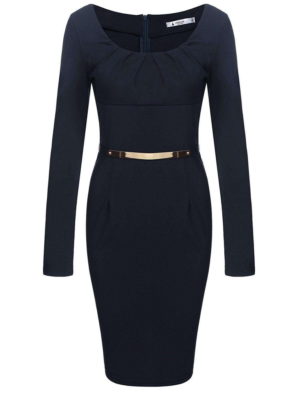 Formal Coolste Damen Kleider Langarm BoutiqueAbend Schön Damen Kleider Langarm Design