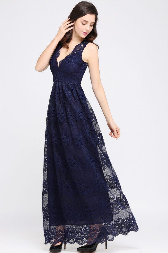 großer Abverkauf Rabatt zum Verkauf klassischer Stil 10 Luxurius Lange Kleider Elegant Günstig Design - Abendkleid
