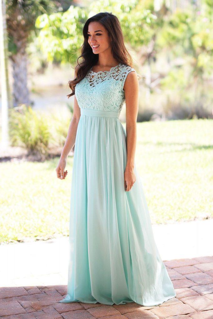 10 Luxurius Mint Kleid Hochzeit Design - Abendkleid