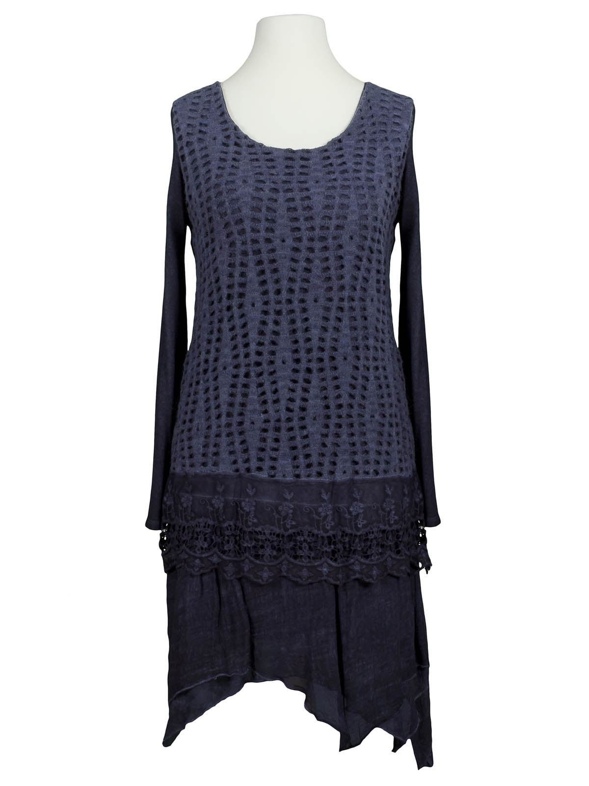 Abend Einzigartig Kleid Blau Mit Spitze Spezialgebiet20 Coolste Kleid Blau Mit Spitze Bester Preis