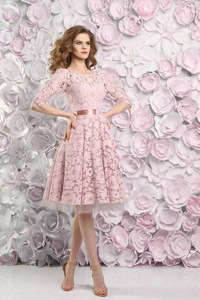 10 Wunderbar Kleid Altrosa Kurz Spezialgebiet - Abendkleid