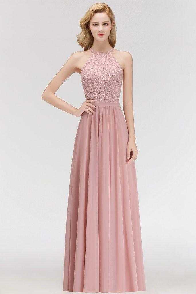 13 Ausgezeichnet Rosa Kleid Lang Boutique - Abendkleid