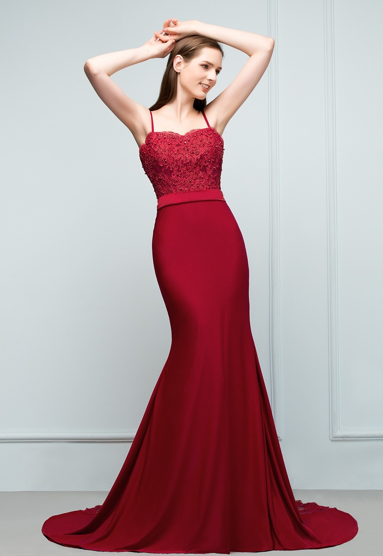 15 Elegant Abendkleider Lang Rot Spitze Bester PreisAbend Kreativ Abendkleider Lang Rot Spitze Design