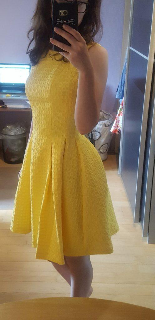 Einzigartig Abendkleid Gelbes Kleid Stylish 13 Festliches QCdrBeWxo