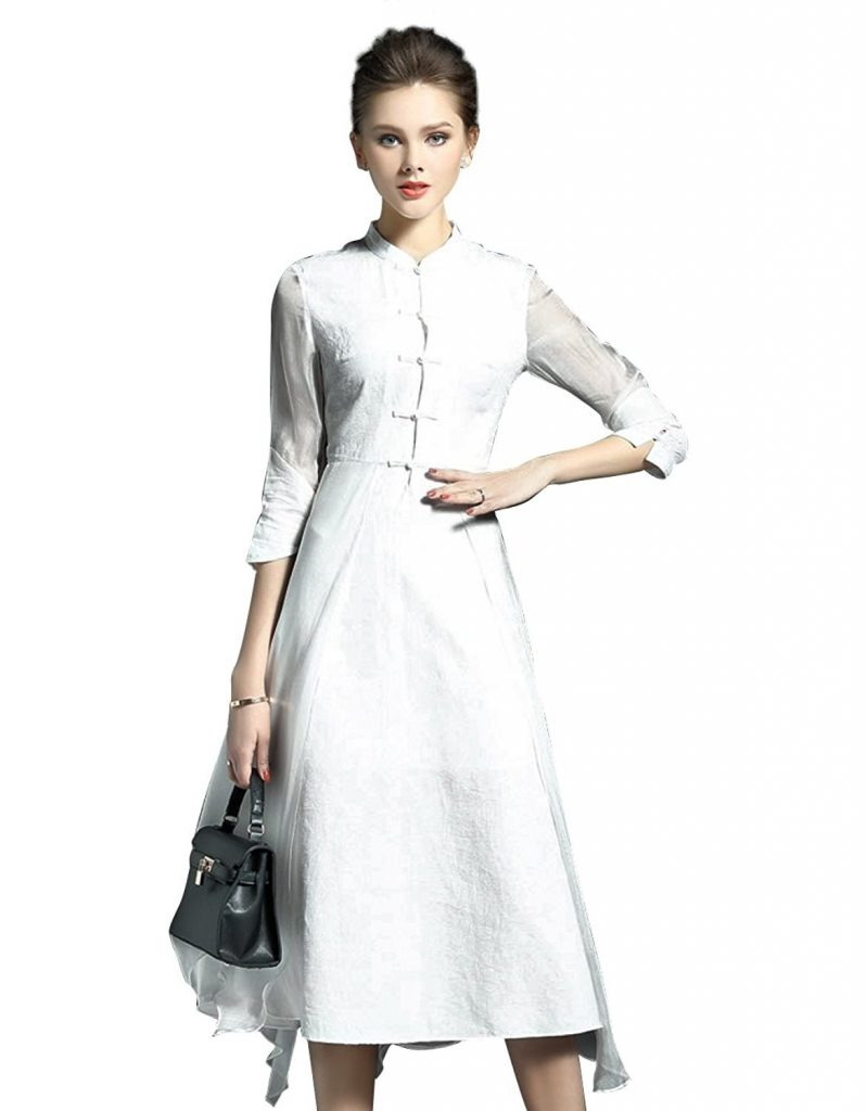 elegante damen kleider wadenlang a746a2