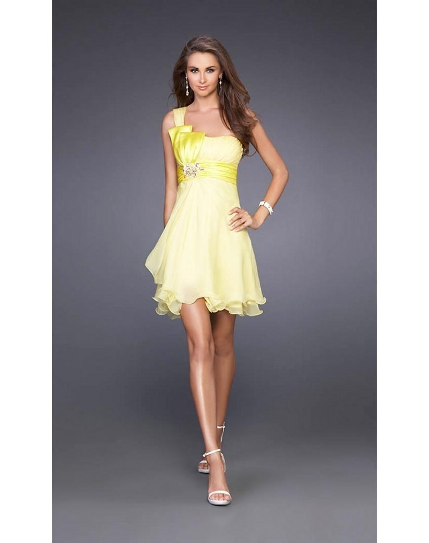 Ausgezeichnet Gelbes Festliches Kleid Bester PreisFormal Coolste Gelbes Festliches Kleid Bester Preis