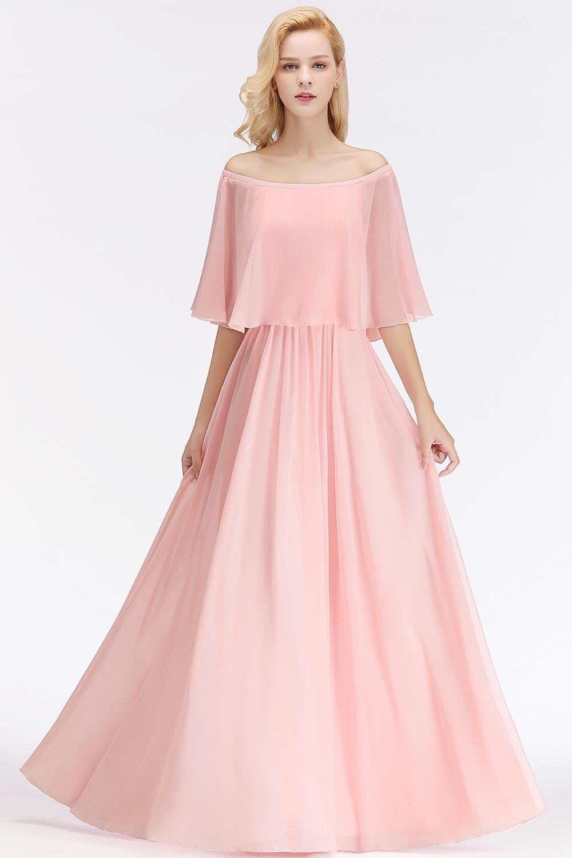 10 Perfekt Rosa Kleid Lang Stylish Schön Rosa Kleid Lang Ärmel