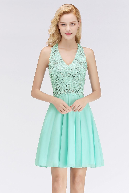 Abend Erstaunlich Mint Kleid Hochzeit ÄrmelDesigner Großartig Mint Kleid Hochzeit Vertrieb