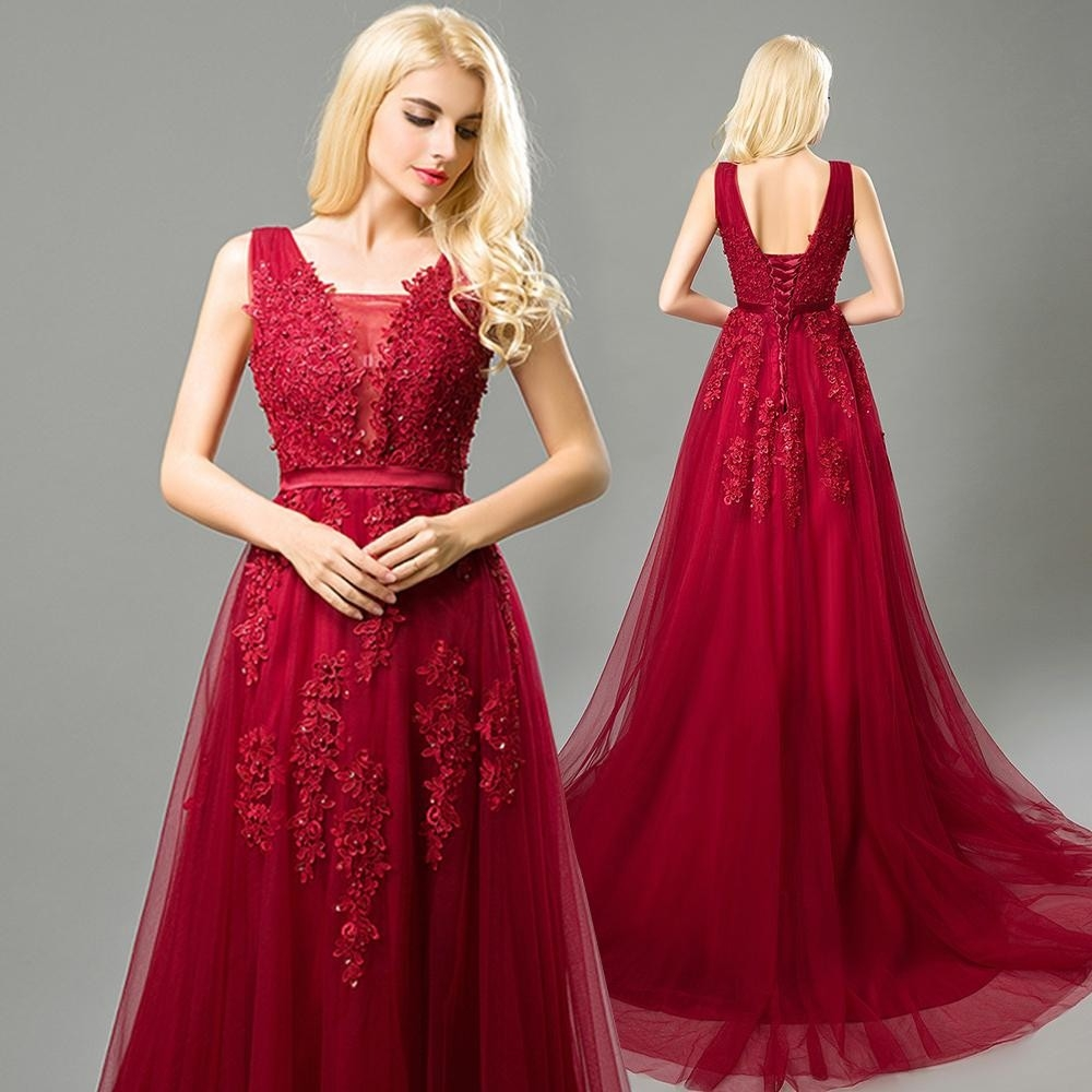 10 Großartig Abendkleider Lang Rot Spitze Bester Preis20 Einfach Abendkleider Lang Rot Spitze Ärmel