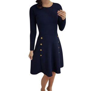 Designer Elegant Winterkleider Frauen ÄrmelFormal Luxus Winterkleider Frauen Galerie