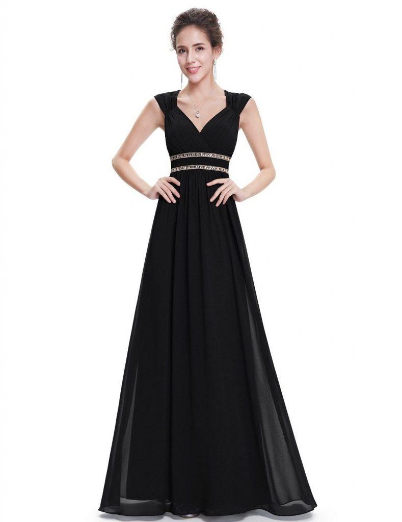 12 Erstaunlich Langes Abendkleid Schwarz Vertrieb - Abendkleid