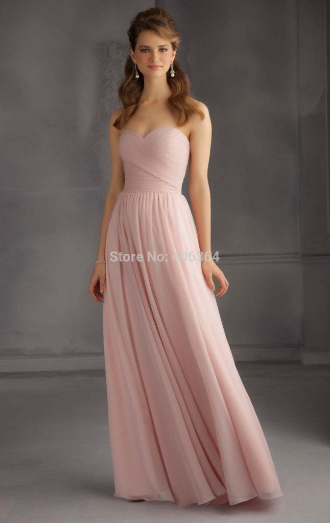 15 Genial Kleid Lang Altrosa Boutique - Abendkleid