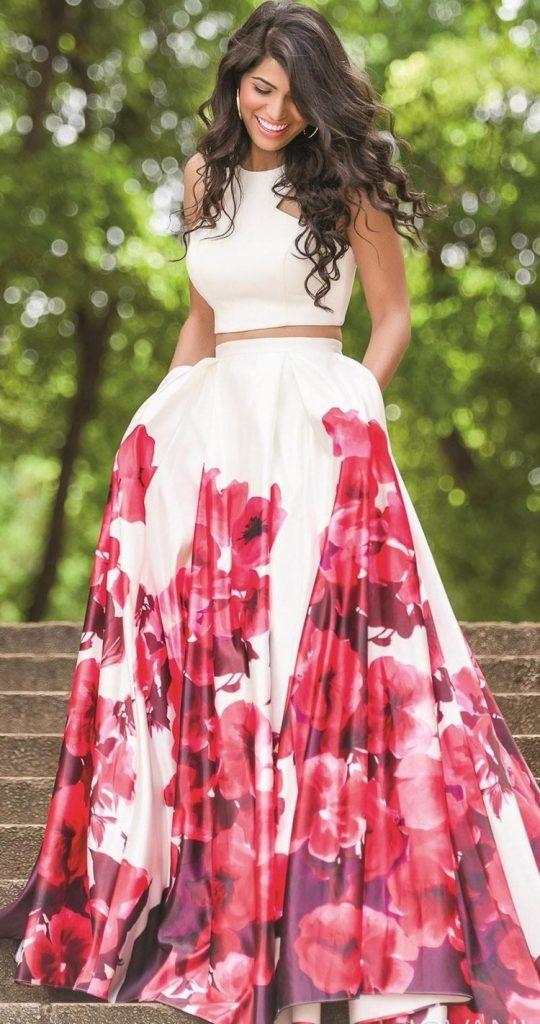 finest selection a1e46 13c78 15 Großartig Kleid Lang Blumen für 2019 - Abendkleid