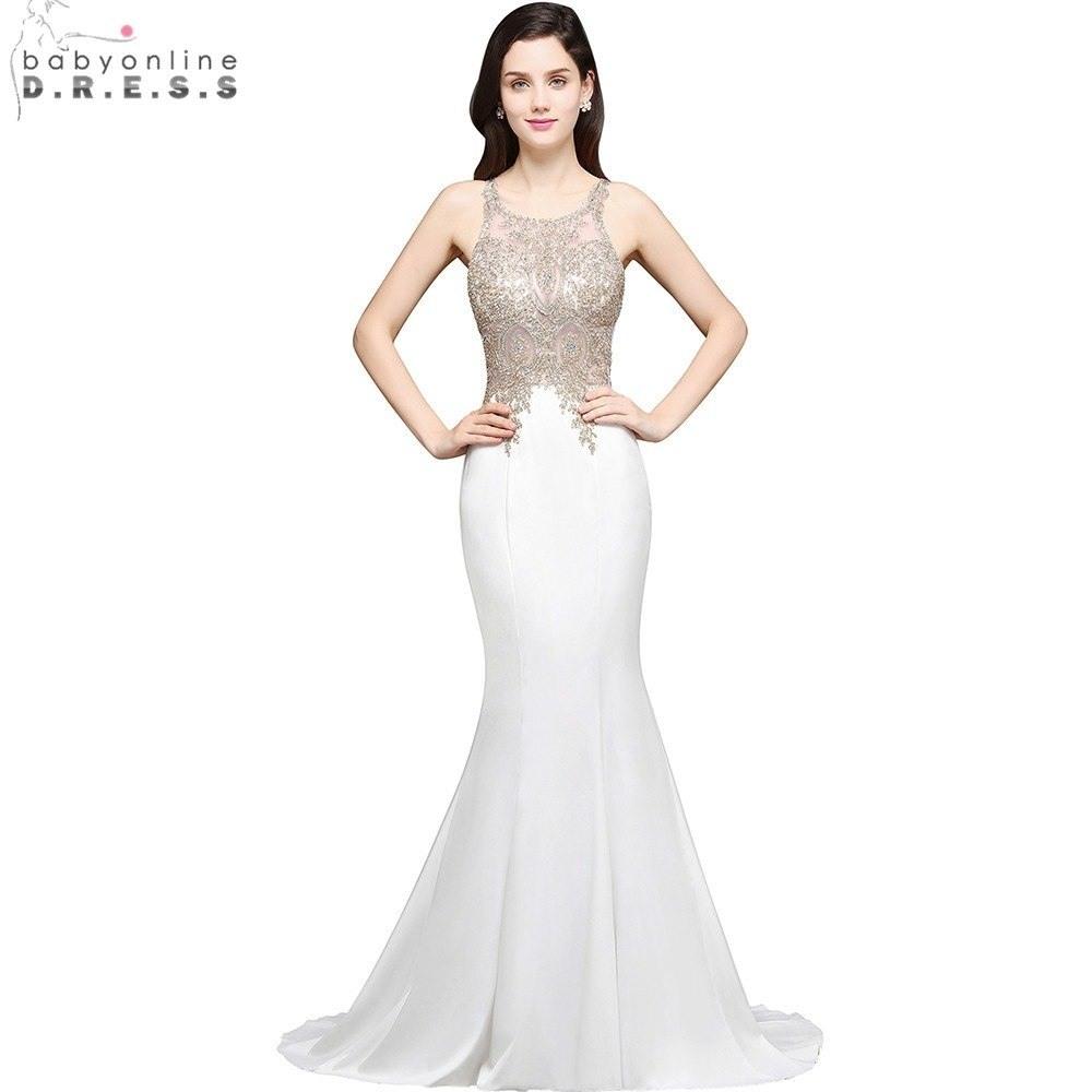 82d1a309d5590b Designer Schön Weiße Abendkleider Lang Günstig GalerieFormal Fantastisch  Weiße Abendkleider Lang Günstig Vertrieb