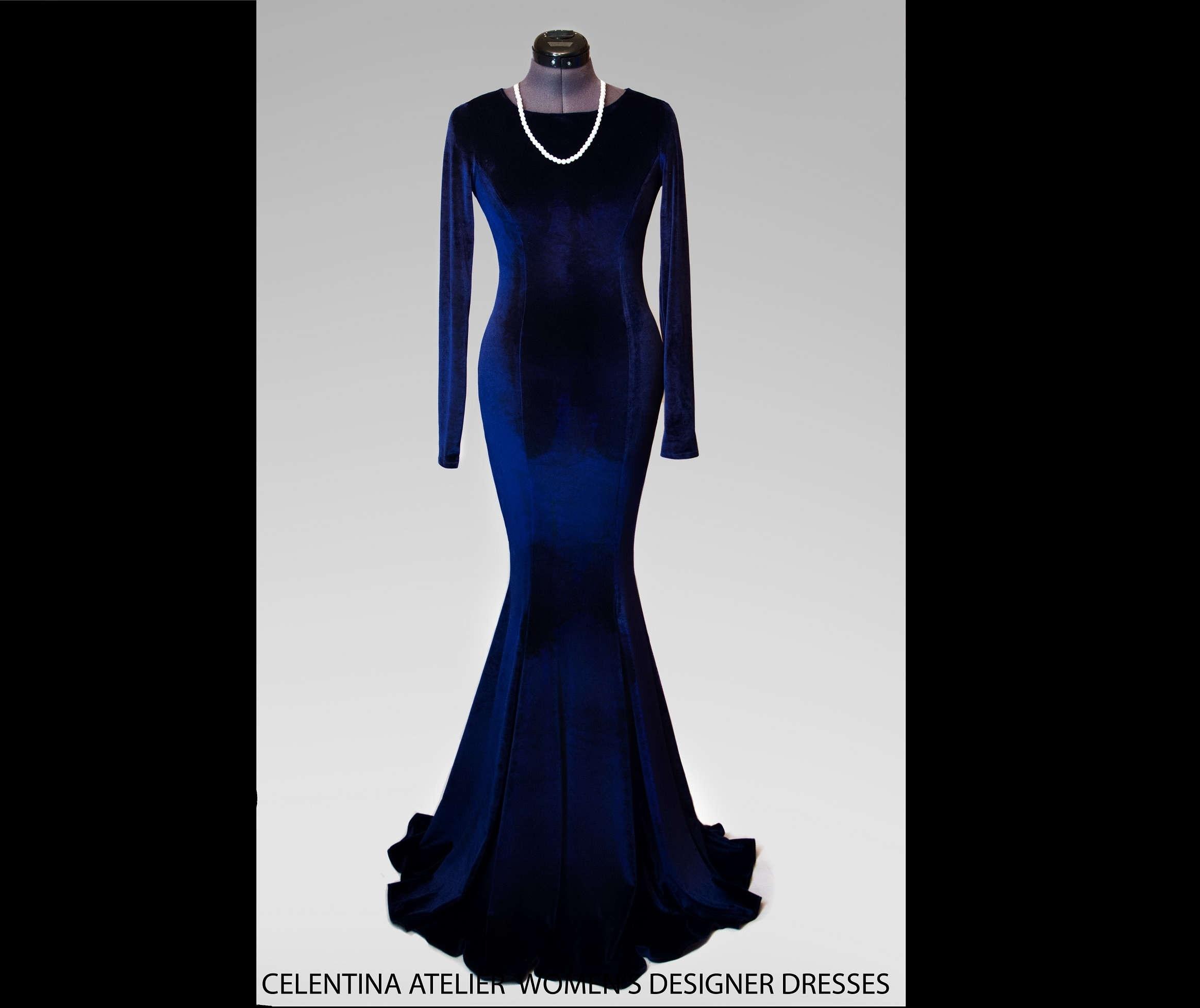 10 Spektakulär Langes Dunkelblaues Kleid Galerie20 Schön Langes Dunkelblaues Kleid für 2019