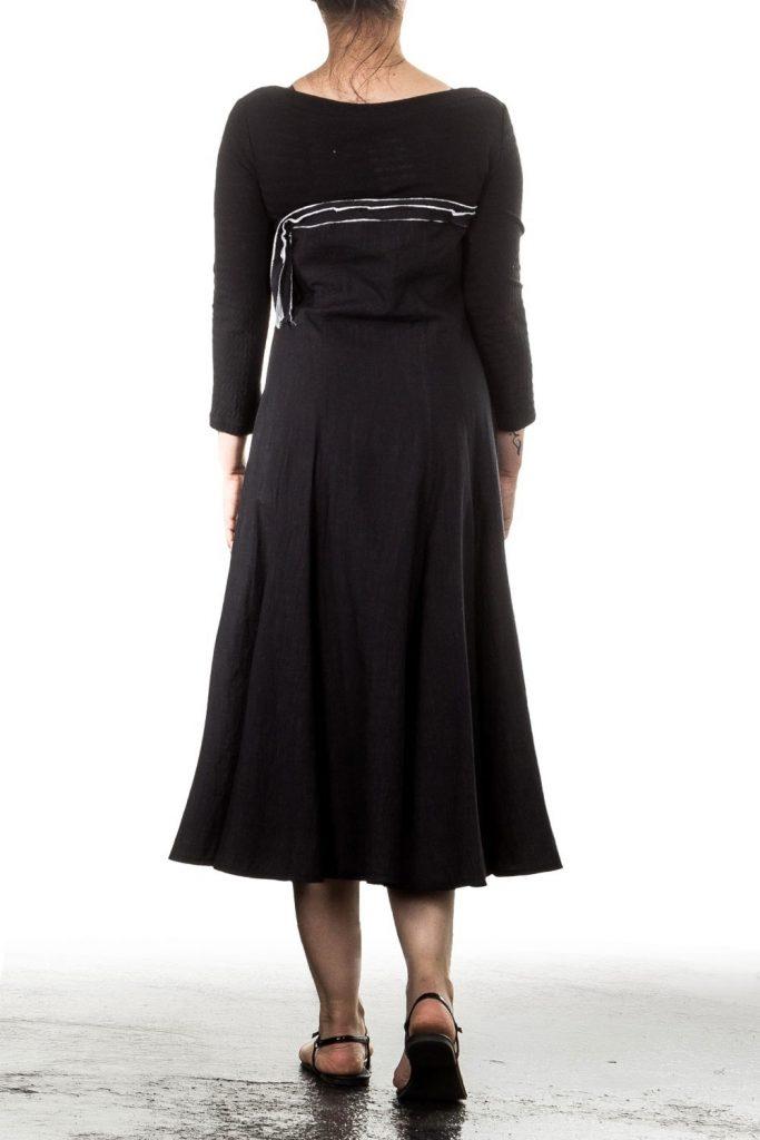 15 Schön Langarm Kleid Schwarz Ärmel - Abendkleid