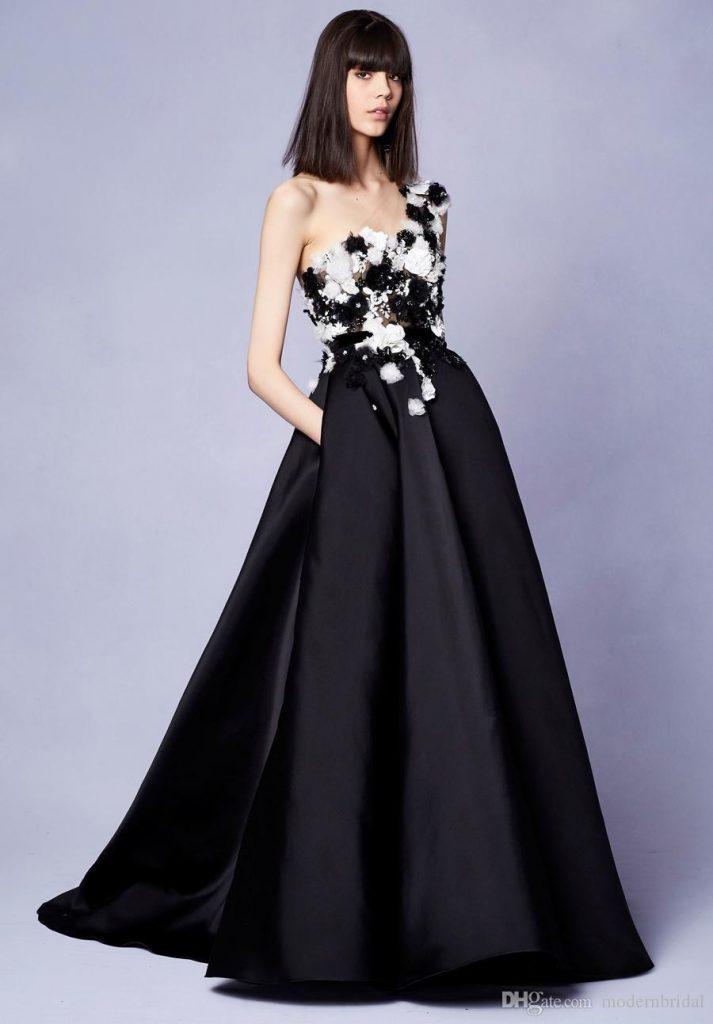 17 coolste langes abendkleid schwarz stylish - abendkleid