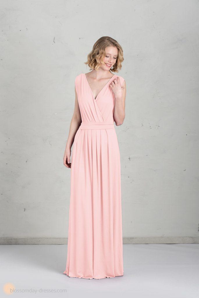 17 Erstaunlich Rosa Kleid Lang Bester Preis - Abendkleid