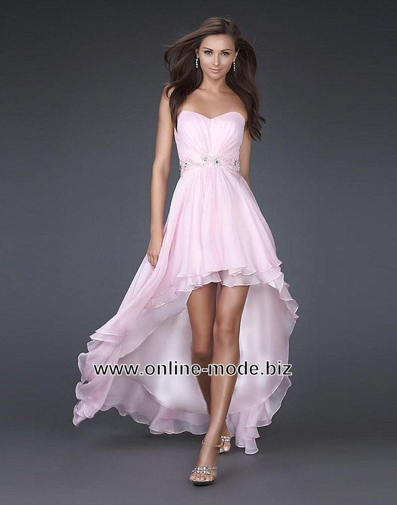 8 Genial Abendkleider Lang Und Kurz Stylish - Abendkleid