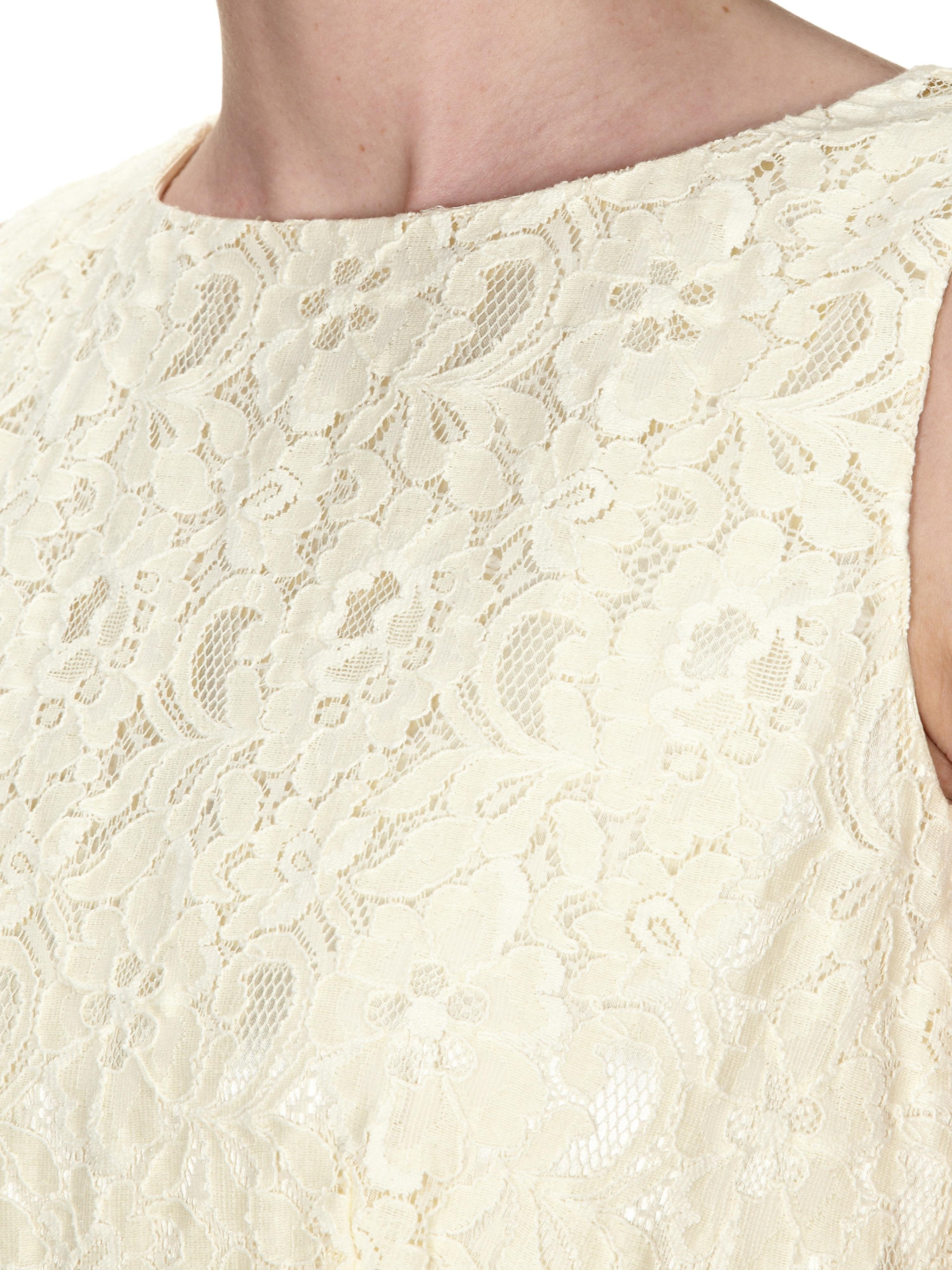 Formal Cool Kleid Gelb Spitze für 2019Formal Elegant Kleid Gelb Spitze Spezialgebiet