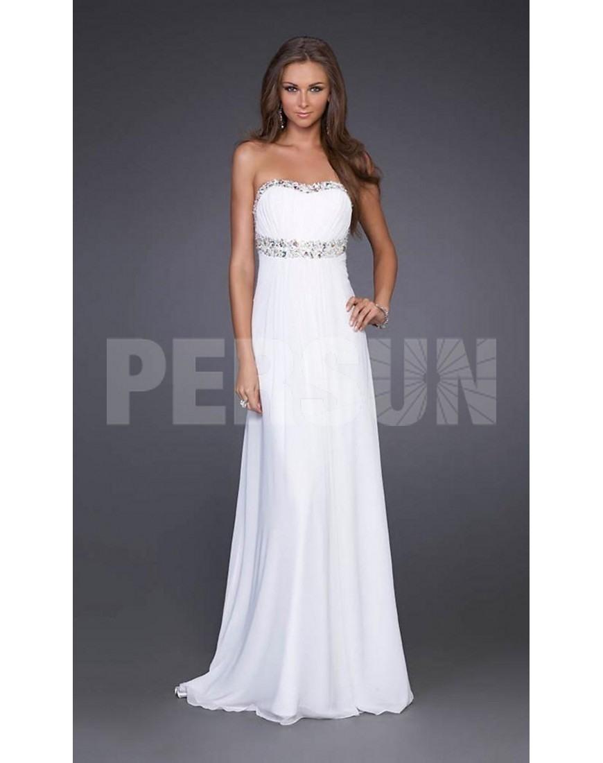 Designer Luxurius Weiße Abendkleider Lang Günstig Design20 Einzigartig Weiße Abendkleider Lang Günstig Ärmel