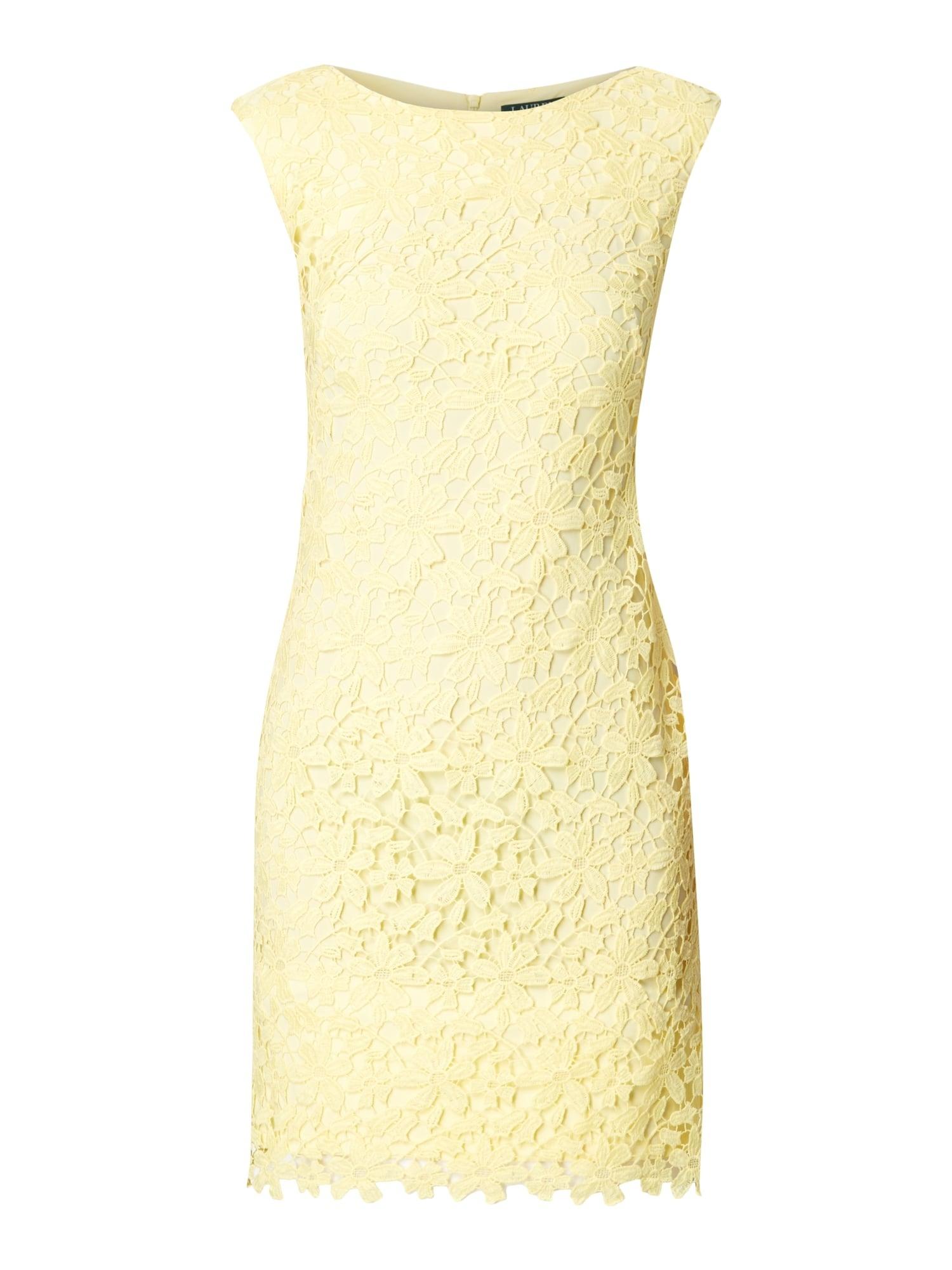 Formal Schön Kleid Gelb Spitze Galerie15 Perfekt Kleid Gelb Spitze Boutique