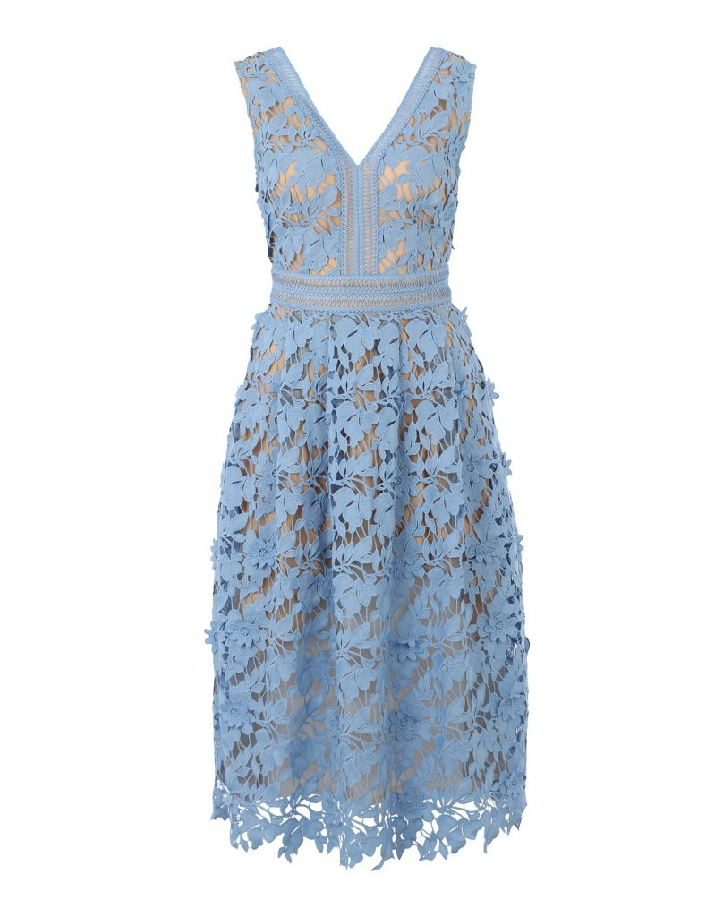 18 Einzigartig Kleid Spitze Hellblau Spezialgebiet - Abendkleid
