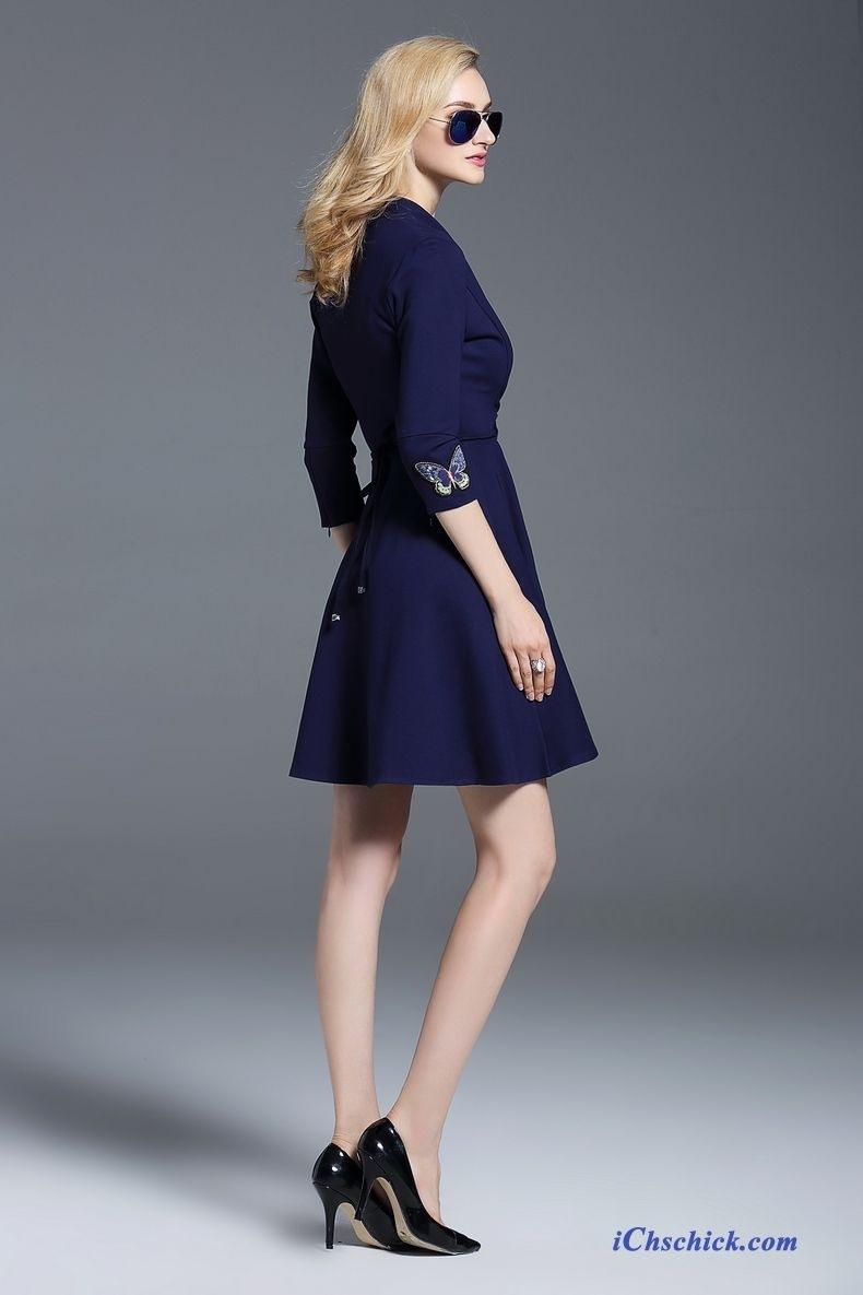 10 Schön Blaue Kleider Knielang Boutique15 Luxus Blaue Kleider Knielang Bester Preis