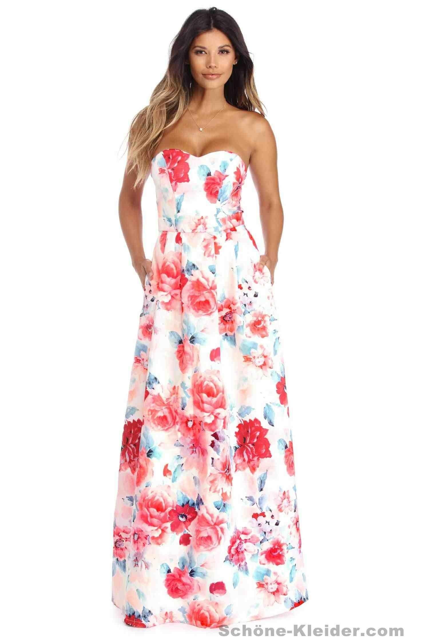 Elegant Schicke Sommerkleider Lang DesignAbend Coolste Schicke Sommerkleider Lang Boutique